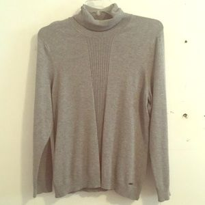 Gray Calvin Klein Turtleneck